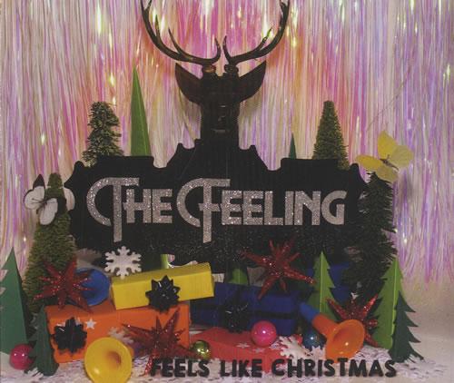 """The Feeling Feels Like Christmas CD single (CD5 / 5"""") UK FE2C5FE458608"""