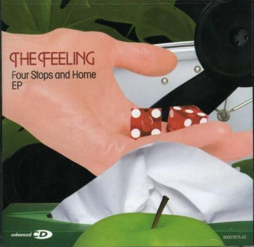 "The Feeling Four Stops And Home EP CD single (CD5 / 5"") US FE2C5FO379355"