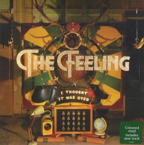 """The Feeling I Thought It Was Over - Green Vinyl 7"""" vinyl single (7 inch record) UK FE207IT426869"""