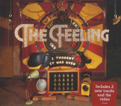 """The Feeling I Thought It Was Over CD single (CD5 / 5"""") UK FE2C5IT426868"""