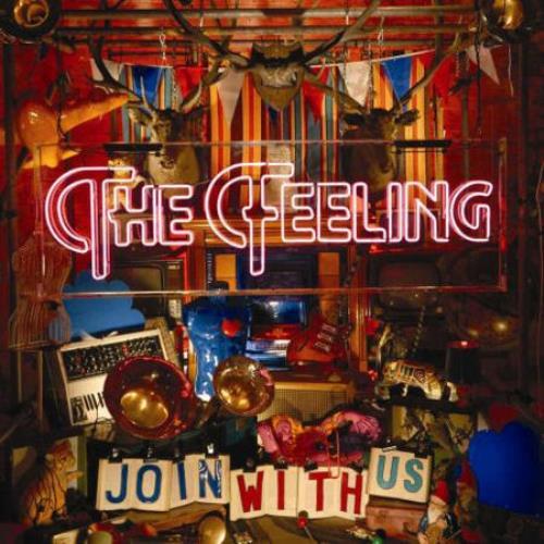 The Feeling Join With Us CD album (CDLP) Japanese FE2CDJO426697