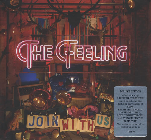 The Feeling Join With Us 2 CD album set (Double CD) UK FE22CJO427420