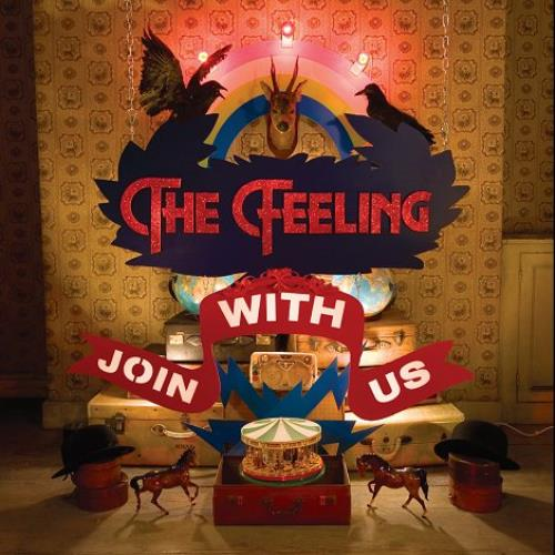 "The Feeling Join With Us CD single (CD5 / 5"") UK FE2C5JO445500"