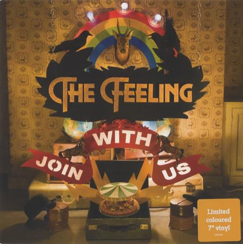 "The Feeling Join With Us 7"" vinyl single (7 inch record) UK FE207JO445501"