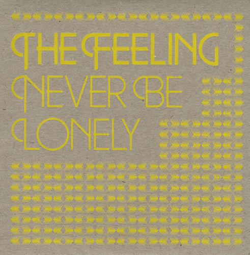 "The Feeling Never Be Lonely CD single (CD5 / 5"") UK FE2C5NE374439"