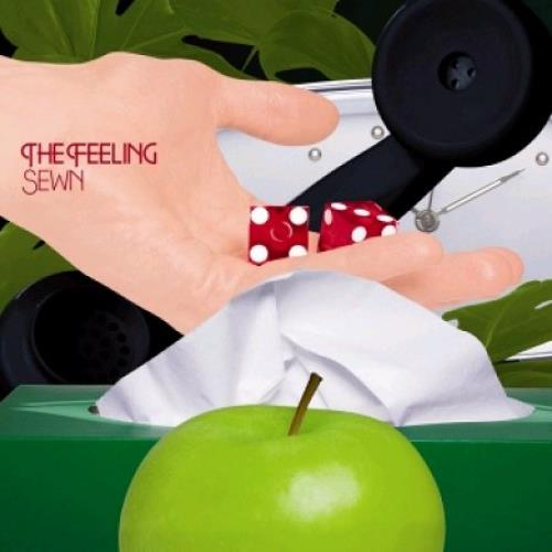 "The Feeling Sewn - Dice sleeve 7"" vinyl single (7 inch record) UK FE207SE351138"
