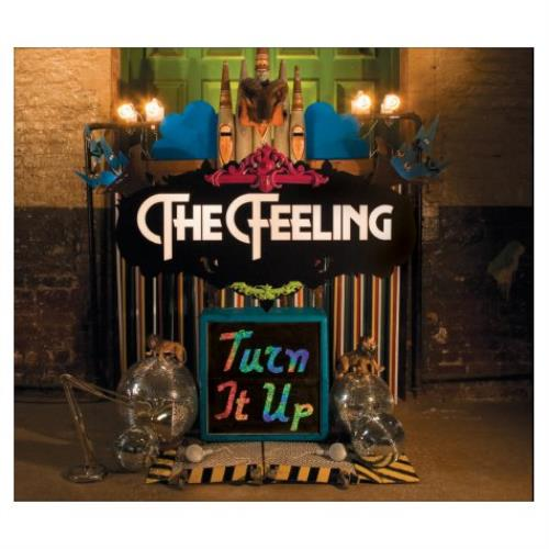 "The Feeling Turn It Up CD single (CD5 / 5"") UK FE2C5TU438232"