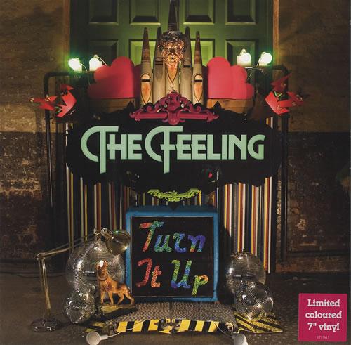 "The Feeling Turn It Up 7"" vinyl single (7 inch record) UK FE207TU438233"