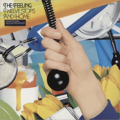 The Feeling Twelve Stops And Home vinyl LP album (LP record) UK FE2LPTW363713