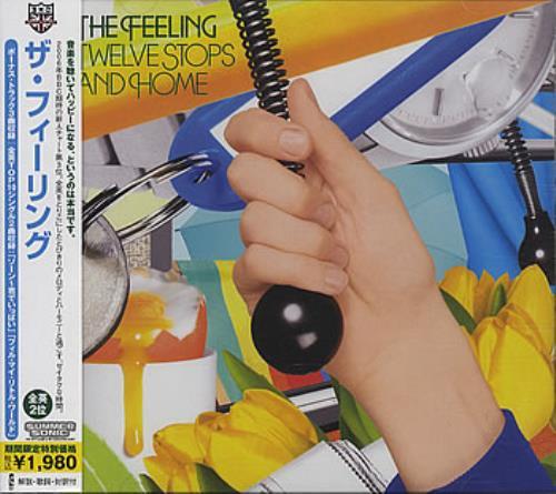 The Feeling Twelve Stops And Home CD album (CDLP) Japanese FE2CDTW384039