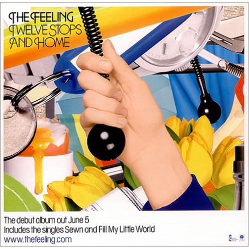 The Feeling Twelve Stops And Home display UK FE2DITW420965