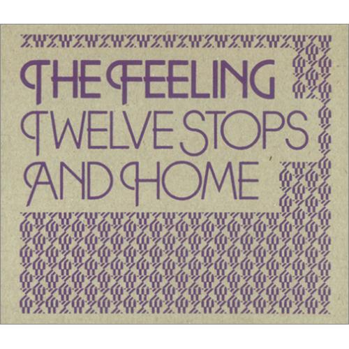 The Feeling Twelve Stops And Home CD album (CDLP) UK FE2CDTW422683