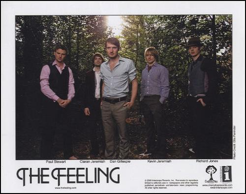 The Feeling Twelve Stops And Home media press kit US FE2KITW442630