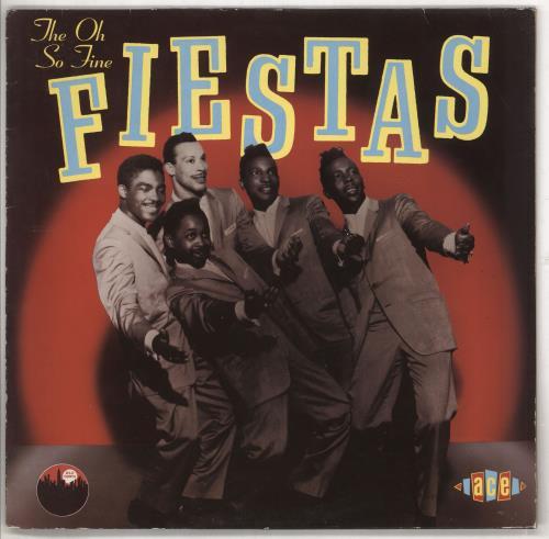 The Fiestas The Oh So Fine Fiestas vinyl LP album (LP record) UK VVYLPTH737133