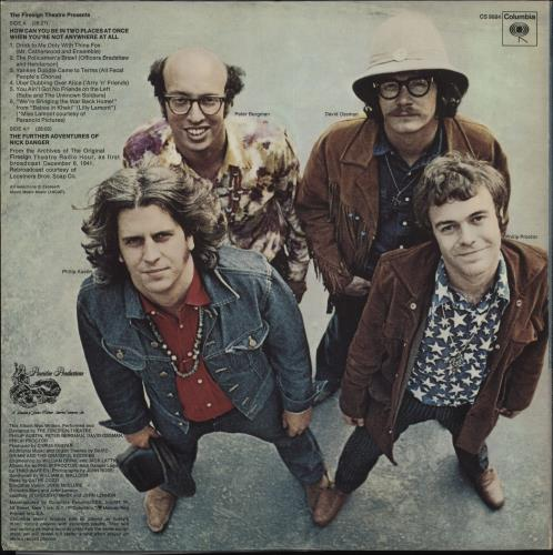 The Firesign Theatre How Can You Be In Two Places At Once When You're Not Anywhere At All US vinyl LP album (LP record) (707617)