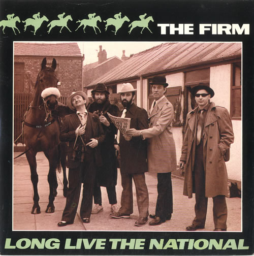 """The Firm (Pop) Long Live The National 7"""" vinyl single (7 inch record) UK UP607LO586406"""