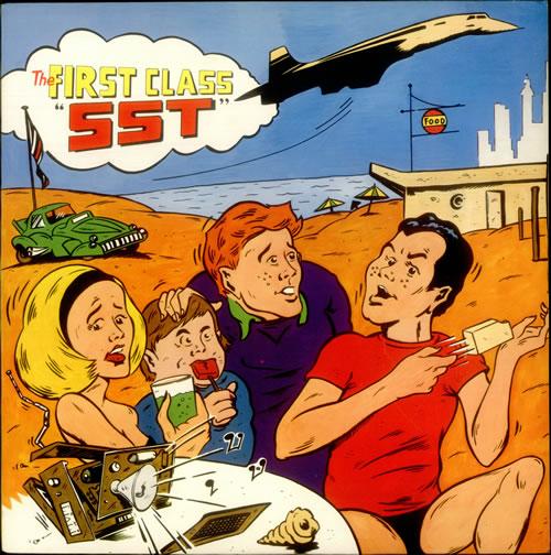 The First Class SST vinyl LP album (LP record) UK 1FCLPSS539512