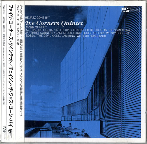 The Five Corners Quintet Chasin' The Jazz Gone By CD album (CDLP) Japanese W1FCDCH614556