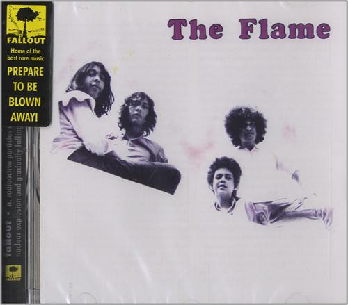 The Flames The Flame CD album (CDLP) UK FMECDTH451923