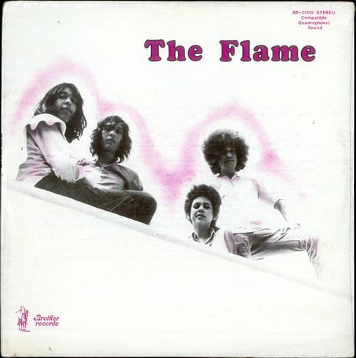 The Flames The Flames - Sealed vinyl LP album (LP record) US FMELPTH517304