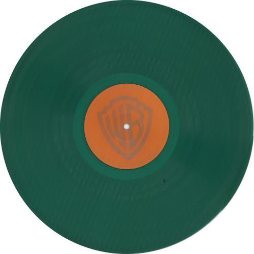 The Flaming Lips Clouds Taste Metallic - Green Vinyl - EX vinyl LP album (LP record) US F-LLPCL734207