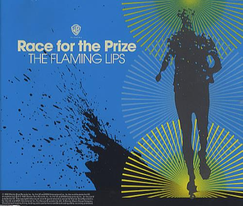 "The Flaming Lips Race For The Prize - Part 2 CD single (CD5 / 5"") UK F-LC5RA371548"