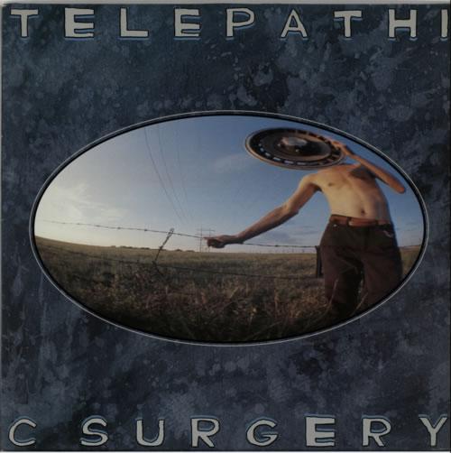 The Flaming Lips Telepathic Surgery - EX vinyl LP album (LP record) UK F-LLPTE615855