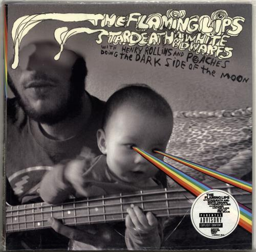 The Flaming Lips The Dark Side Of The Moon - Green Vinyl + CD vinyl LP album (LP record) US F-LLPTH704495