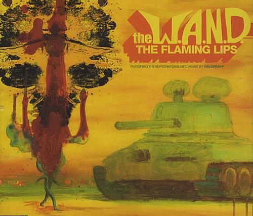 The Flaming Lips The W.A.N.D. 2-CD single set (Double CD single) UK F-L2STH365106