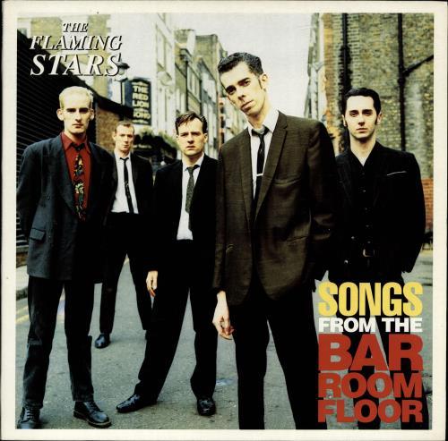 The Flaming Stars Songs From The Bar Room Floor vinyl LP album (LP record) UK F/SLPSO691923