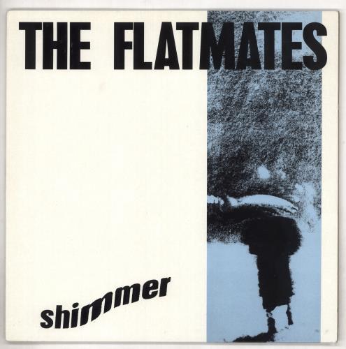 "The Flatmates Shimmer 12"" vinyl single (12 inch record / Maxi-single) UK FMS12SH542336"