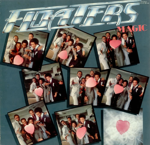 The Floaters Magic vinyl LP album (LP record) Japanese FCVLPMA438039
