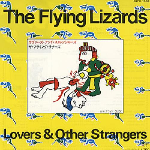 "The Flying Lizards Lovers & Other Strangers 7"" vinyl single (7 inch record) Japanese FLZ07LO309795"