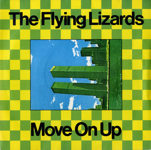 """The Flying Lizards Move On Up 7"""" vinyl single (7 inch record) UK FLZ07MO559094"""