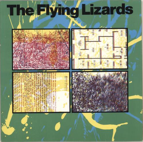 The Flying Lizards The Flying Lizards vinyl LP album (LP record) German FLZLPTH712717