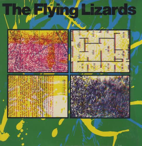 The Flying Lizards The Flying Lizards vinyl LP album (LP record) UK FLZLPTH76998