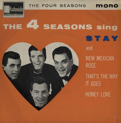 "The Four Seasons The Four Seasons Sing 7"" vinyl single (7 inch record) UK FSE07TH570815"
