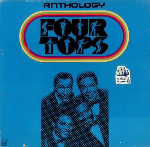 The Four Tops Anthology - Sealed 3-LP vinyl record set (Triple Album) US FTP3LAN445800