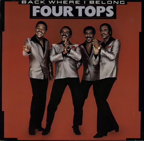 The Four Tops Back Where I Belong vinyl LP album (LP record) UK FTPLPBA580236