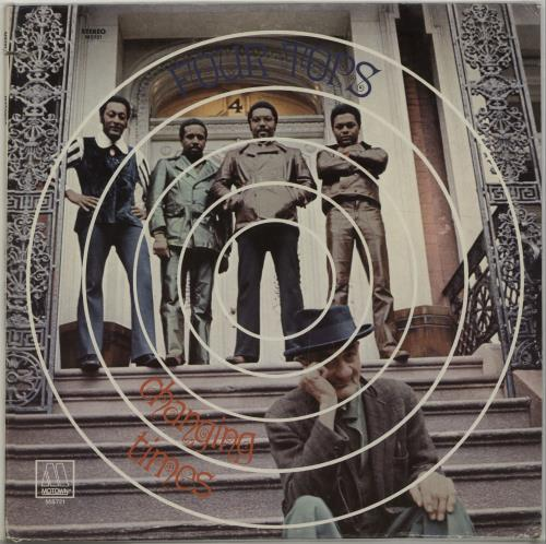 The Four Tops Changing Times vinyl LP album (LP record) US FTPLPCH677583