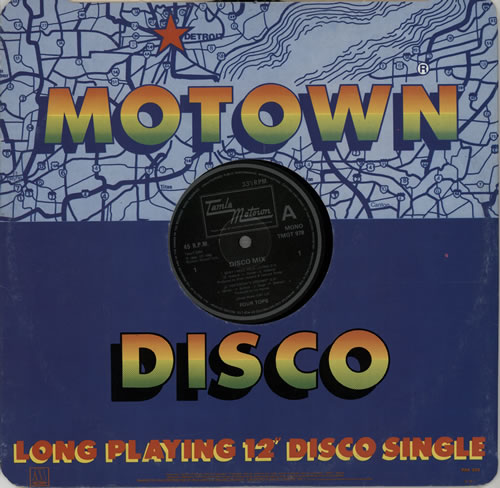 "The Four Tops Disco Mix (Four Tops Medley) 12"" vinyl single (12 inch record / Maxi-single) UK FTP12DI572720"