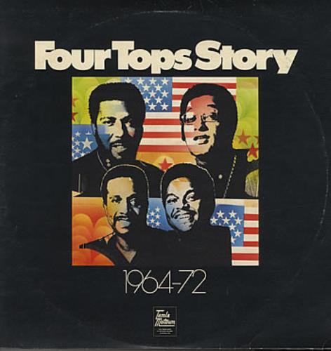 The Four Tops Four Tops Story 1964-72 2-LP vinyl record set (Double Album) UK FTP2LFO384744