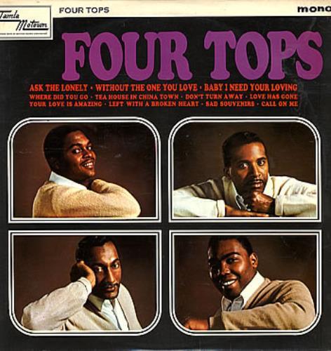 The Four Tops Four Tops vinyl LP album (LP record) UK FTPLPFO299473