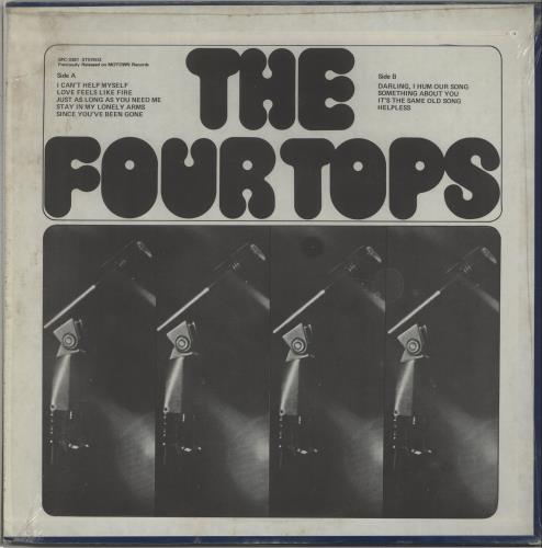 The Four Tops I Can't Help Myself vinyl LP album (LP record) US FTPLPIC672453