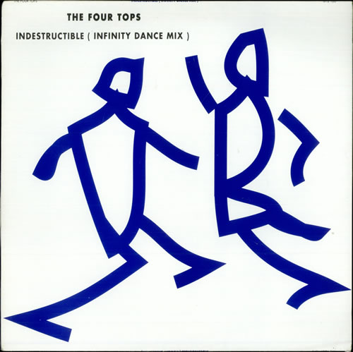 """The Four Tops Indestructible - Infinity Dance Mix 12"""" vinyl single (12 inch record / Maxi-single) UK FTP12IN499531"""
