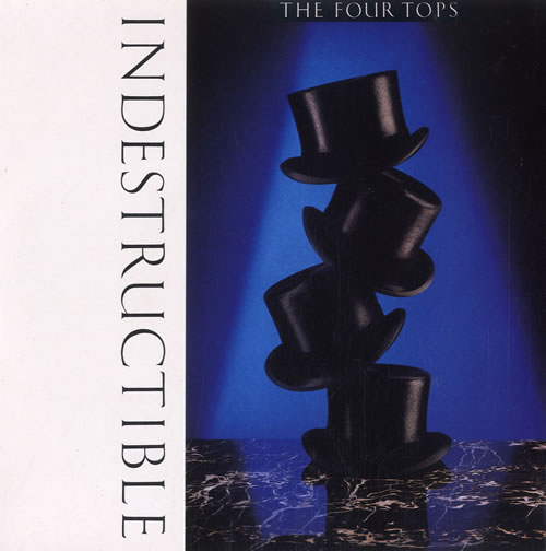 """The Four Tops Indestructible 7"""" vinyl single (7 inch record) UK FTP07IN565485"""