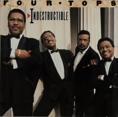 The Four Tops Indestructible vinyl LP album (LP record) German FTPLPIN572376