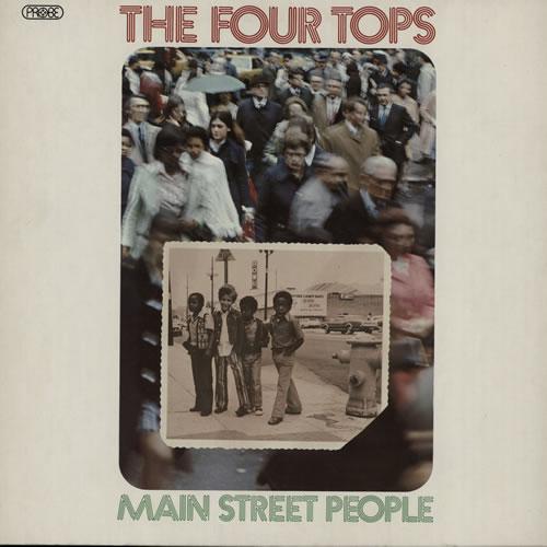 The Four Tops Main Street People vinyl LP album (LP record) UK FTPLPMA635874