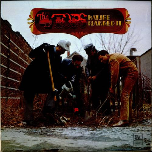 The Four Tops Nature Planned It vinyl LP album (LP record) UK FTPLPNA529354