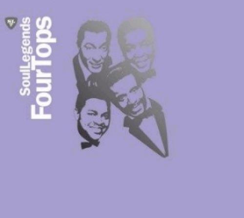 The Four Tops Soul Legends CD album (CDLP) UK FTPCDSO368359